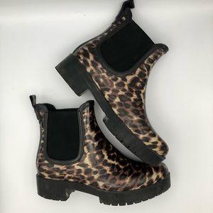 JEFFERY CAMPBELL Animal Rain Boots size US8